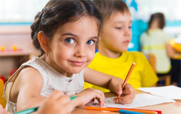 Niños aprendiendo inglés en kangaroo